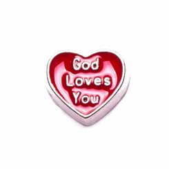 God Loves You - Red