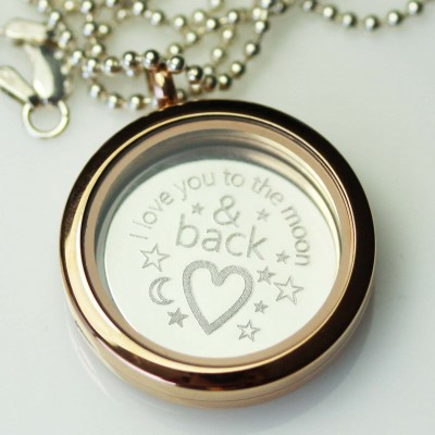Engraved - I Love You to the Moon & Back Plate