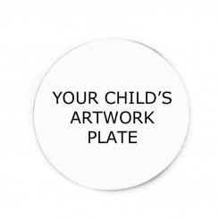 Your Child's Artwork/Handprint Plate