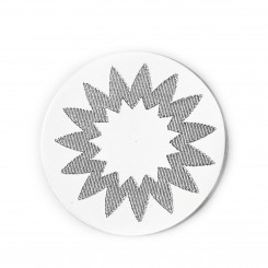 Engraved Star Burst 1 Plate