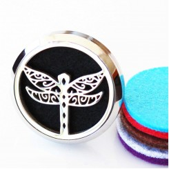 Dragonfly Car Locket