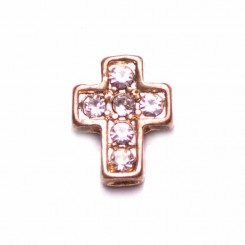 Gold Crystal Cross
