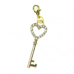 Gold Sparkle Key