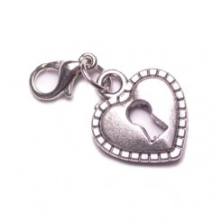 Heart Locket Dangle