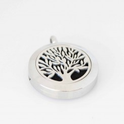 Perfume/Essential Oil Locket - Tree of Life - 2.5cm Locket