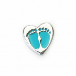 Blue Feet Heart