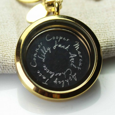 Engraved Personalised Plate - to fit 3cm wide Lockets.