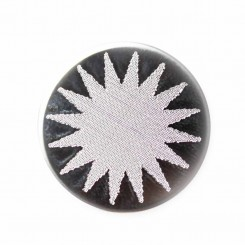 Engraved Star Burst 2 Plate