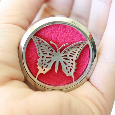Butterfly Car Locket
