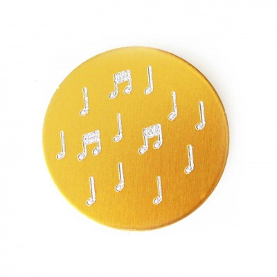 Music Note Plate
