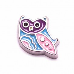 Owl - Purple and Pink