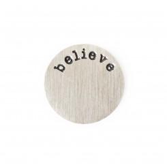 Believe Plate - 2.5cm