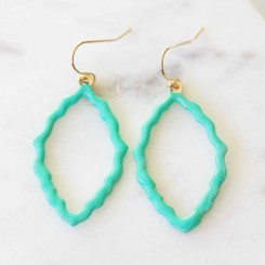 Stella Earrings - Turquoise