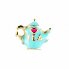 Teapot with Pink Heart