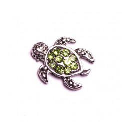 Green Turtle with Sparkles