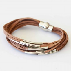 Brown Suede Bracelet