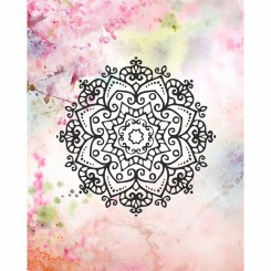 Floral Mandala (jpeg file only) 8x10 inch
