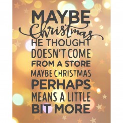 Maybe Christmas (jpeg file only) 8x10