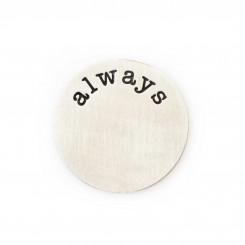 Always Plate - Silver Tone