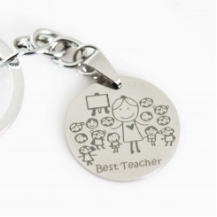 Best Teacher Keyring