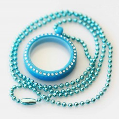 Kids Locket & Necklace Set - Blue