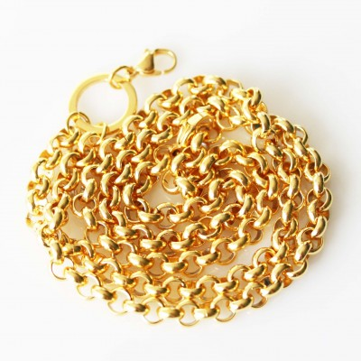 6mm Belcher Necklace - 24 inch (61cm)