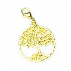 Gold Tone Tree of Life