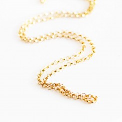1.8mm Cable Necklace - Gold Filled - 18 inch (46cm)