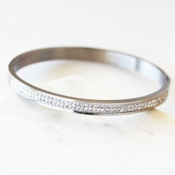 Crystal Love Bangle