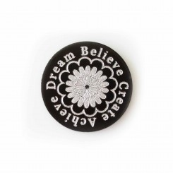 Dream Believe Create Achieve - Plate - to fit a 3cm locket