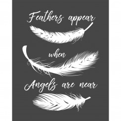 Feathers appear when Angels are near. (jpeg file)