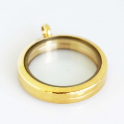 Yellow Gold Magnetic Locket
