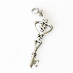 Intricate Heart Key