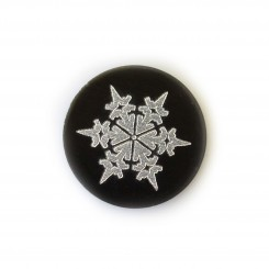 Pointy Snowflake Plate