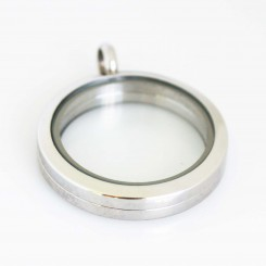 Silver Magnetic Locket