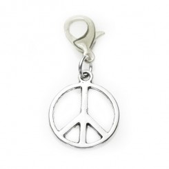 Peace Sign Dangle
