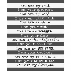 I am yours, you are my (jpeg file) 8x10
