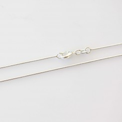 Snake Chain - Silver Tone - 20 inch (51cm)