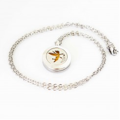 Tinkerbell Perfume Locket & Necklace Set