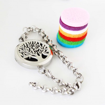 Perfume/Essential Oil - Tree of Life Tassel Necklace and Bracelet Attachment